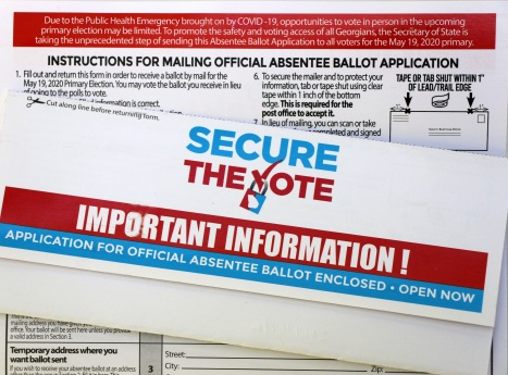 Secure The Vote - Georgia Absentee Ballot Application